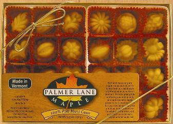 Pure Vermont Maple Candy 24 Pack of Fancies