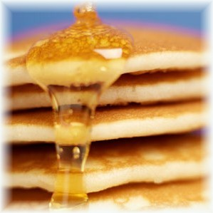 Enjoy your pancakes with our tasty Vermont Maple Syrup!